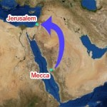 The Night Journey and Ascension took place late in the Meccan period, while the qiblah changed to Mecca around 15 months after the Prophet's migration to Medina.